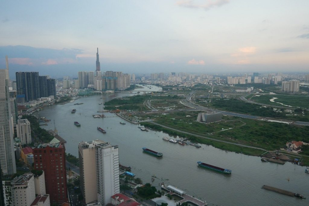 The View from Bitexco Tower